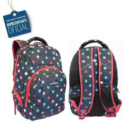 Mochila Escolar Portanotebook Gremond - Funda Lluvia - 2018